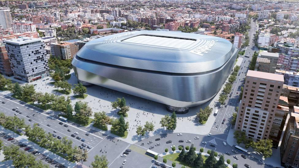 阿斯:伯纳乌起头撤除 球场屋顶,预计创新工程将在2022年竣工
