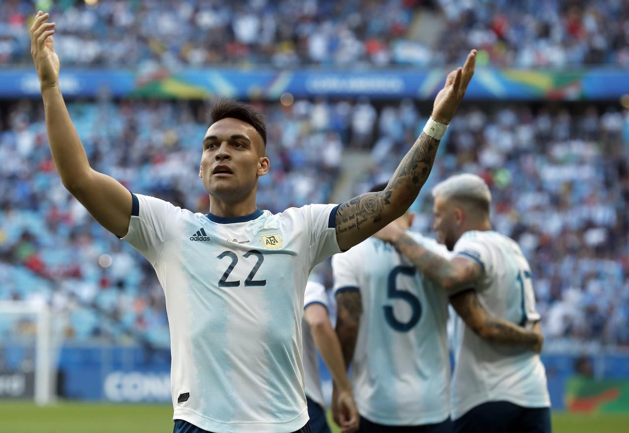 劳塔罗:很愉快能再次进入阿根廷国家队大名单