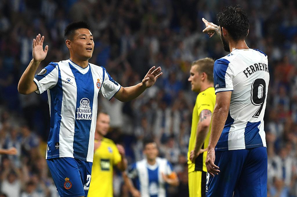 世体:武磊希望成为西班牙人绝对主力,他已完全适应球队