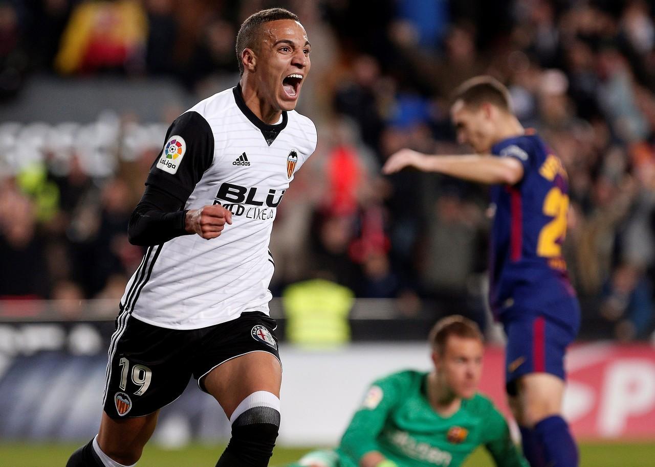 阿斯:马竞尝试签下瓦伦前锋罗德里戈