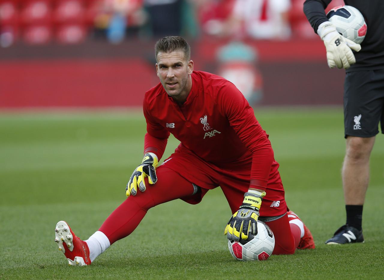 阿德里安:扑点时脚很难放门线上,来利物浦是最棒决议