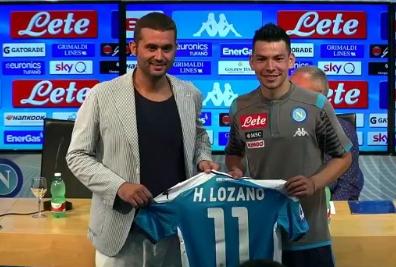 洛萨诺:C罗赛后恭喜我首秀进球,并欢迎我来到意大利