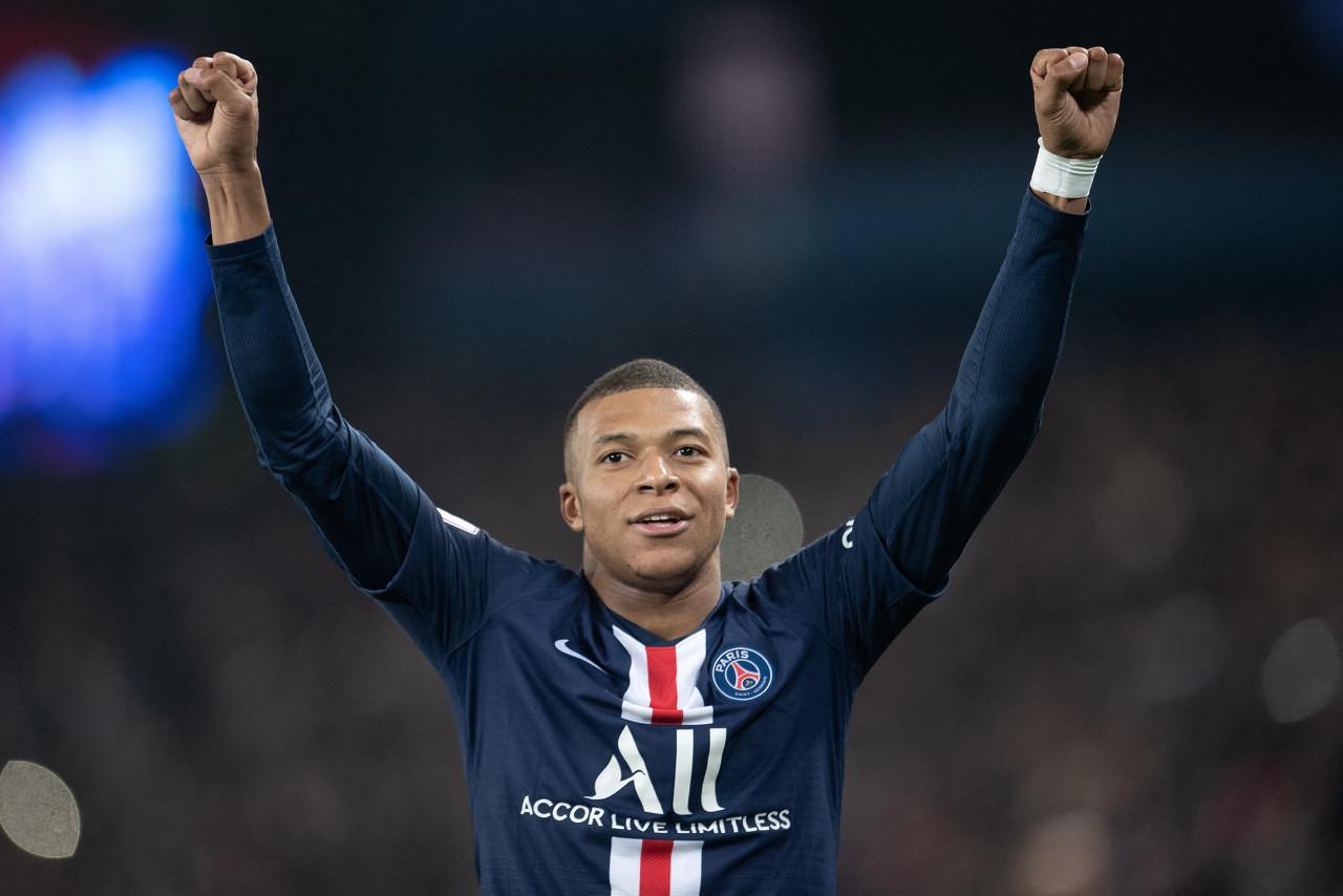 官方:姆巴佩荣膺2019年度法国足球先生