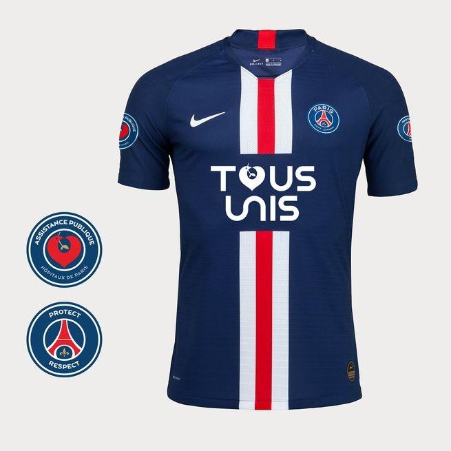 巴黎特别球衣12小时售罄,为医护人员筹集超20万欧元