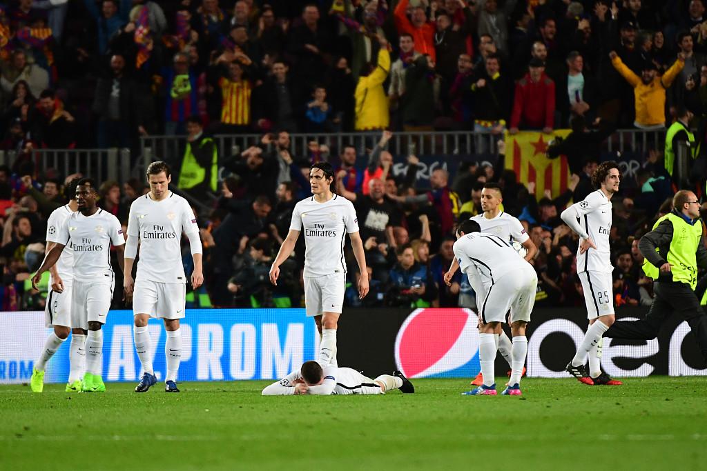 法媒:欧足联处罚巴萨6-1巴黎时任主裁是假新闻