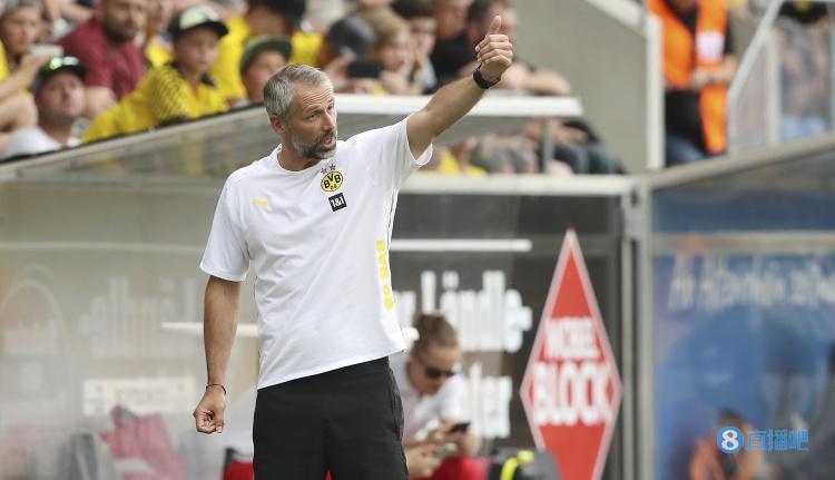 多特主帅罗泽:周二将对阵德国最强球队,事关奖杯我们要做好准备
